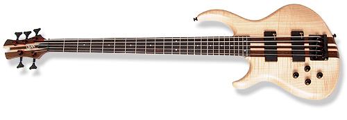 Сквозной гриф на гитаре