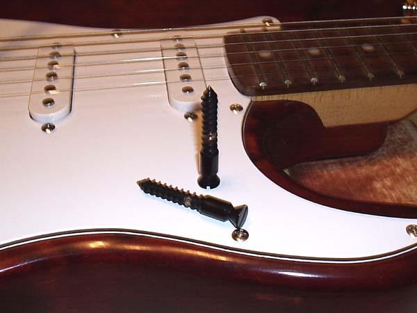 Floyd rose опорные винты и втулки тремоло гитара