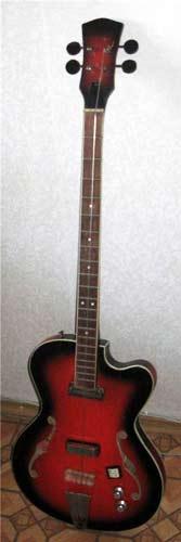 Львовская бас-гитара