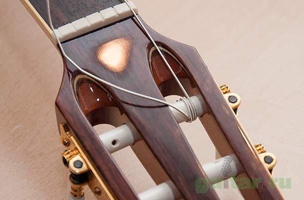 Как натягивать струну