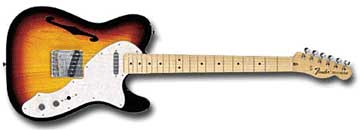 Электрогитара Fender Telecaster Thinline